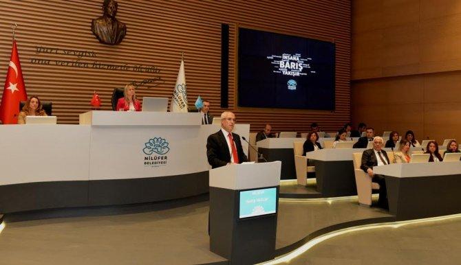 Nilüfer Belediyesi'nin 2015 Yılı Faaliyet Raporu oy birliğiyle kabul edildi