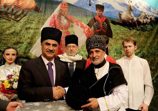 Sivas'ta 'Kafkaslardan Anadolu'ya' Adlı Program Düzenlendi