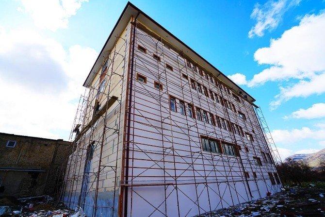 Büyükşehir'den, Kozluca'ya Çok Amaçlı Sosyal Tesis