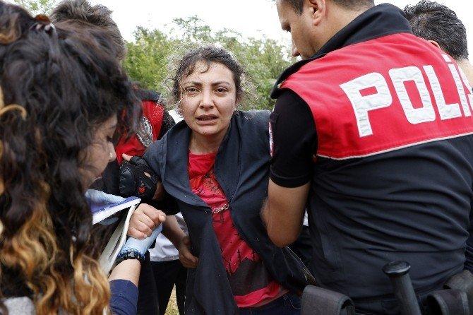 İntihara Teşebbüs Eden Kadın, Polise Ecel Terleri Döktürdü
