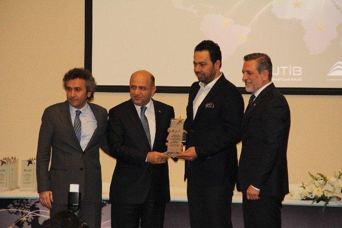 Utib Ve Uhkib İhracatın Yıldızları Ödüllerini Aldı