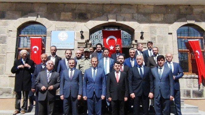 Şehit Jandarma Astsubay Çelik'in İsmi Erciş'te Yaşatılıyor
