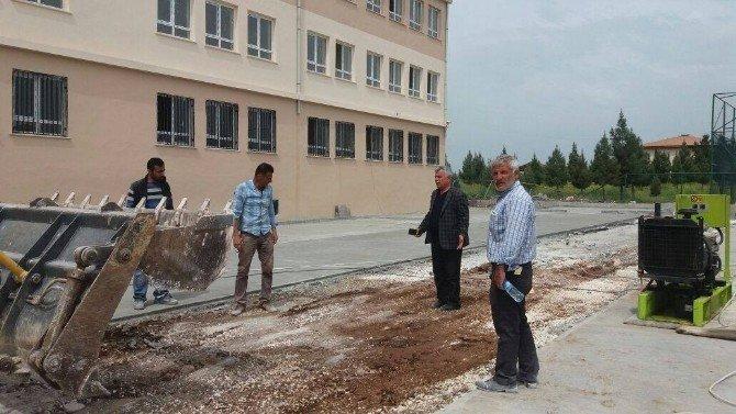 Viranşehir'de Sağır,okul İnşaatlarını İnceledi