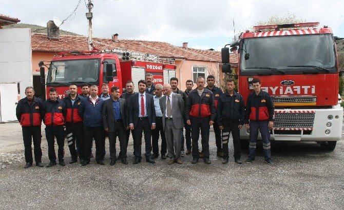 Yozgat Belediyesi 285 Bin Liraya Yeni Bir İtfayie Aracı Aldı