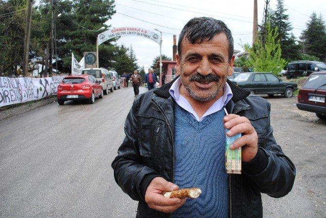 Amasya'daki Madenci Eylemi Sona Erdi