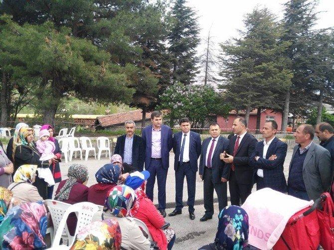 GMİS'ten Amasya Yeniçeltek'e Destek Ziyareti