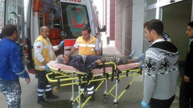 Yüksekten Düşen Boya Ustası Yaralandı