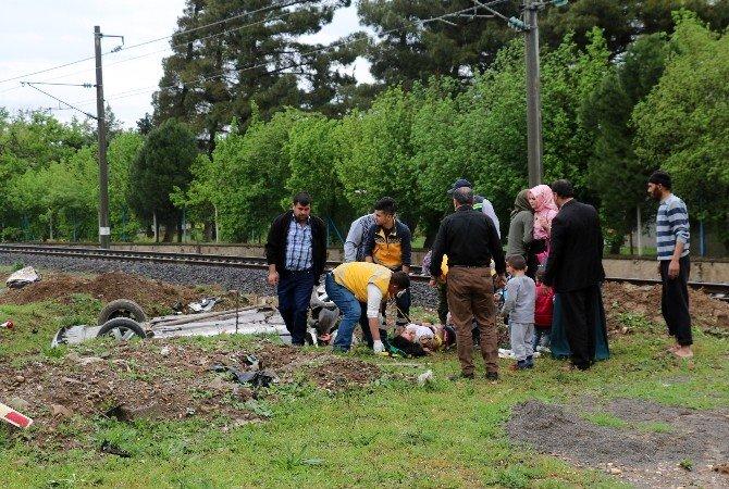 Aşırı Yağış Zincirleme Kazaya Neden Oldu: 8 Yaralı