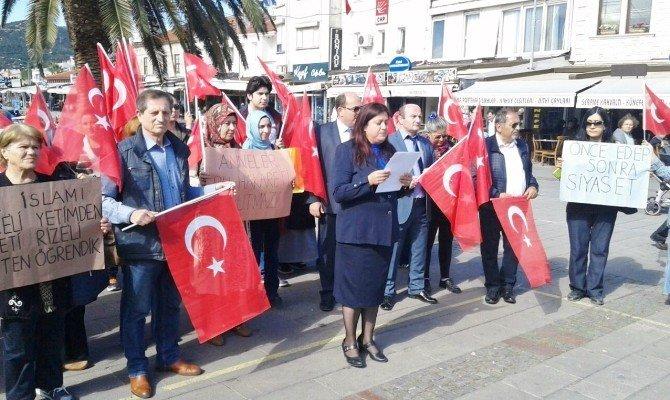 Kılıçdaroğlu'na Bir Tepkide Foça'daki AK Kadınlardan