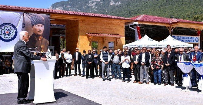 Akyaka Pazaryeri Açıldı