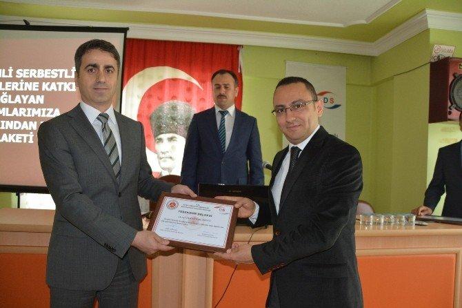 Alaçam'da Denetimde Serbestlik Hizmetleri Tanıtım Toplantısı