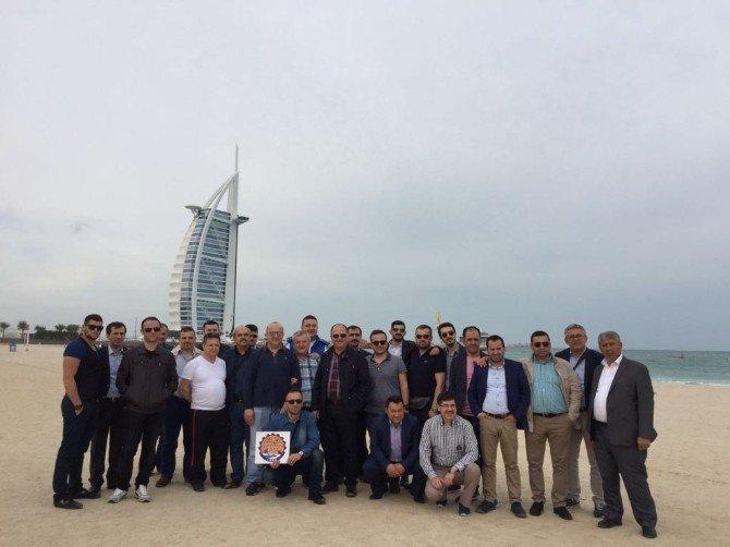 Bartın TSO Heyeti Dubai'de İşbirliği Fırsatlarını Araştırdı