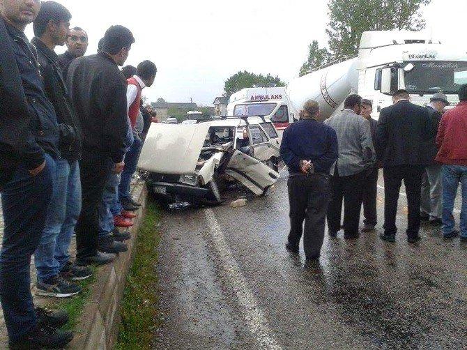 Bartın'da Trafik Kazası: 6 Yaralı