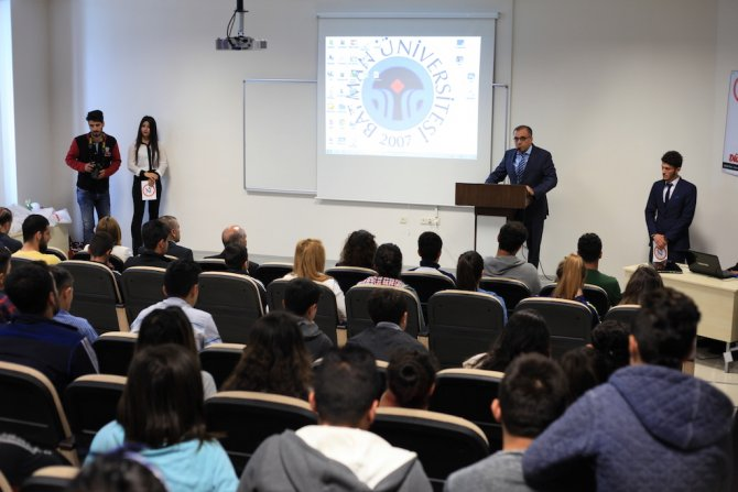 Batman Üniversitesi'nden liseli gençlere BESYO tanıtım konferansı