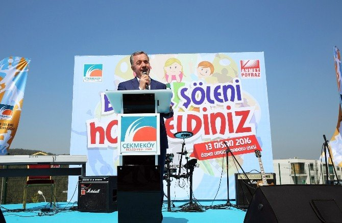 Çekmeköy'de Bahar Şenliği Renkli Görüntülere Sahne Oldu