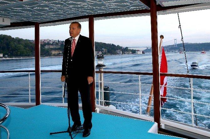 """Cumhurbaşkanı Erdoğan: """"3'Üncü Köprü İle Pekin'e Kadar Bağlantı Yolu Kurmuş Oluyoruz"""""""