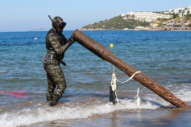 Deniz Dibi Temizliği Kadıkalesi'nde Devam Etti