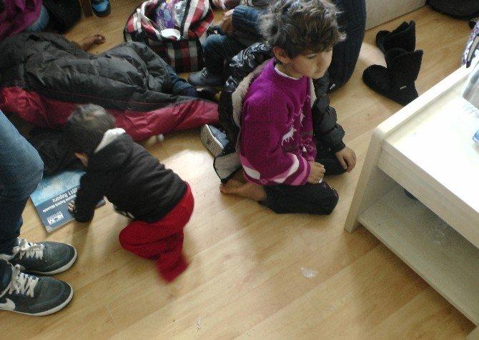 Edirne'de Irak Uyruklu 7 Kaçak Göçmen Yakalandı