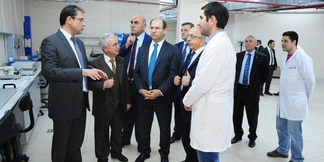 YÖK Üyesi Prof. Dr. Rahmi Er Ve Üniversite Rektörlerinden ETÜ'ye Ziyaret