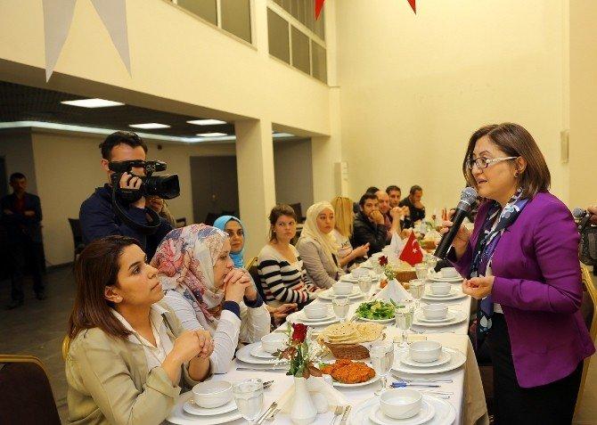 Yerel Fatma Şahin Yabancı Basın Mensuplarını Ağırladı