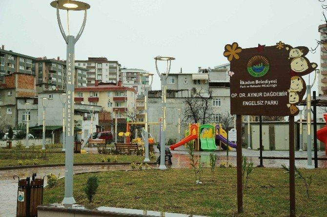 İlkadım'da Parklar Yaza Hazırlanıyor