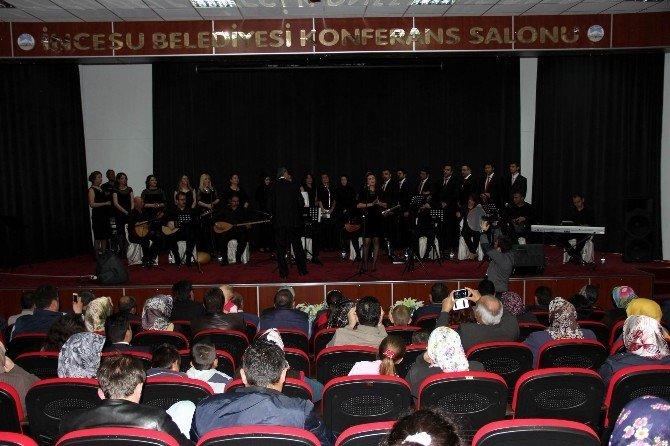 İncesu Belediyesi'nden Türk Halk Müziği Konseri