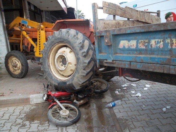 Ödemiş'te Feci Kaza: 1 Yaralı