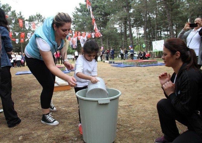 Küçük Maceracılar Bahar Şenliğinde Doğayla Kucaklaştı