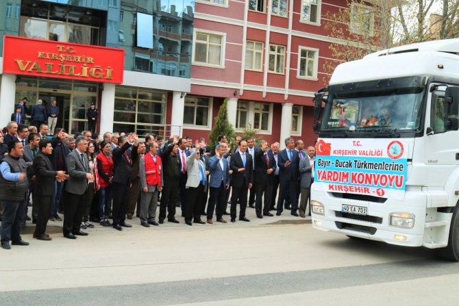 Kırşehir'den Bayırbucak Türkmenlerine 45. yardım TIR'ı yola çıktı