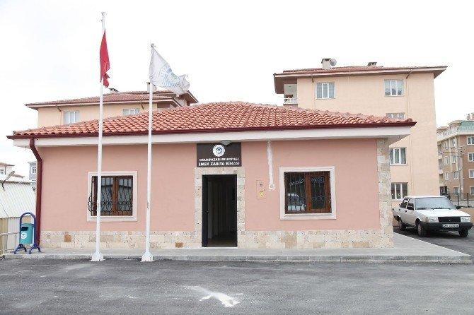 Emek Zabıta Binası Yeni Yerinde