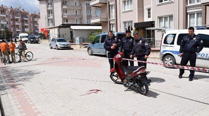 Afyonkarahisar'da Bıçaklı Kavga: 1 Yaralı