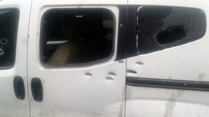 Şanlıurfa'da Araca Silahlı Saldırı
