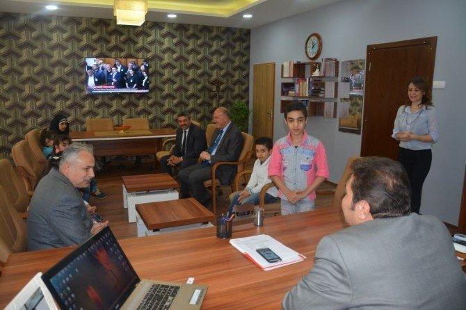 Suriyeli Öğrencilerle Buluştu