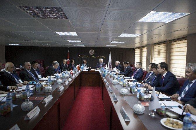 Türk Keneşi Türk Üniversiteler Birliği Genel Kurulu Atatürk Üniversitesi Ev Sahipliğinde Tamamlandı