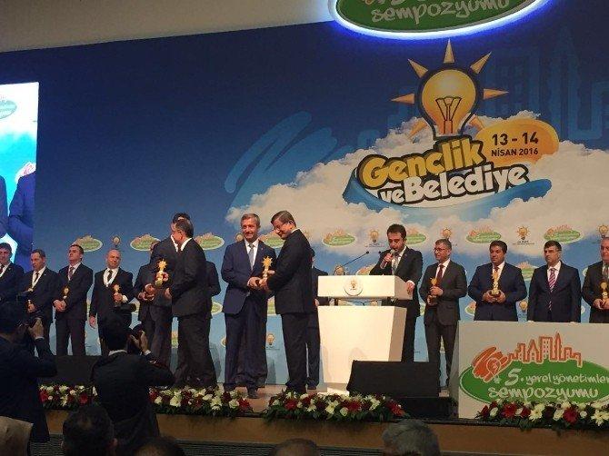 Şahinbey Belediyesi'ne Başbakan'dan Ödül