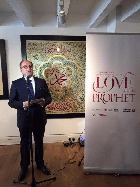 """Londra'da """"Peygamber Aşkı"""" Sergisi Kapılarını Açtı"""