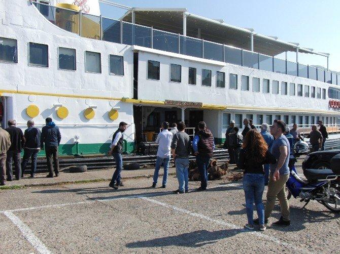 40 Yıllık Vapur Artık Amasra Turizmine Hizmet Verecek