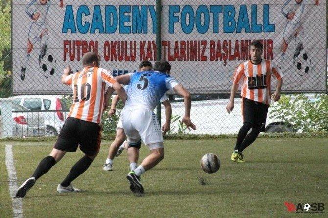 Aosb Ligi'nde Zahit Alüminyum Ve Sarmak Makine Finalde