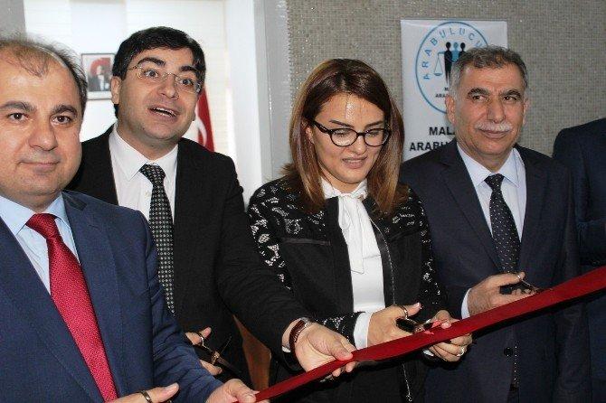 Malatya Adliye Binasında Arabuluculuk Merkezi Açıldı