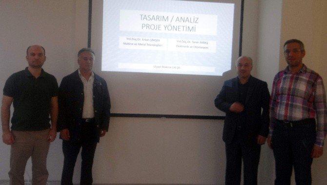 Aydın'da Üniversite-sanayi İşbirliği Toplantıları Devam Ediyor