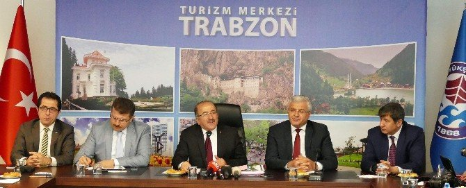 Trabzon Büyükşehir Belediye Başkanı Orhan Fevzi Gümrükçüoğlu Turizmi Konuştu