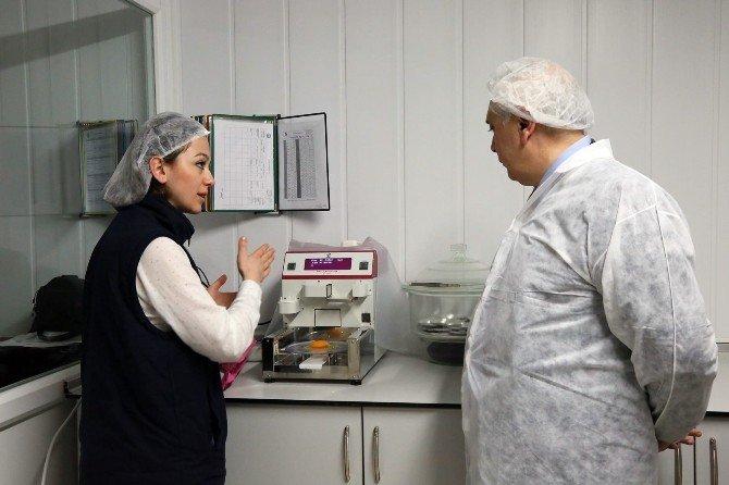 Bursa İl Gıda Tarım Ve Hayvancılık Müdürü Ömer Çelik, Burdan Yumurta Tesislerine Hayran Kaldı