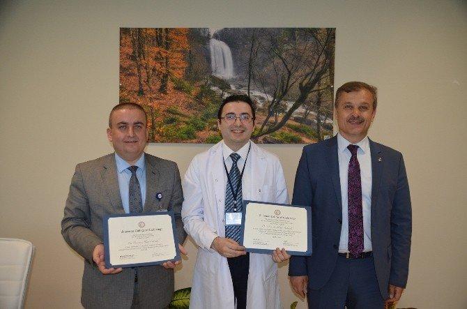 Bursalı Doktora ABD'den İki Ödül