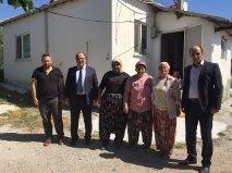 İGM Başkanı Şahin, Akçapınar İlkokulunu Ziyaret Etti