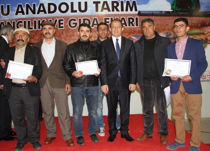 Doğu Anadolu Tarım Hayvancılık Ve Gıda Fuarı Açıldı