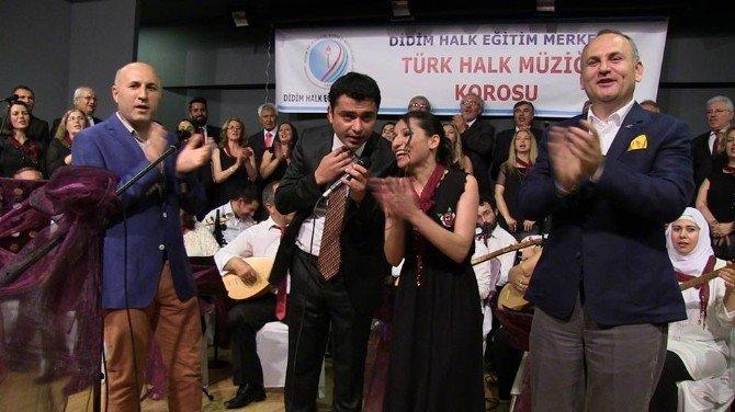 Didim'de Bahar Konserinde Müzik Ziyafeti