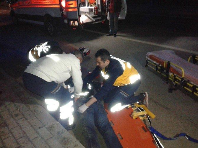 Eğlence Dönüşü Feci Kaza: 2 Yaralı