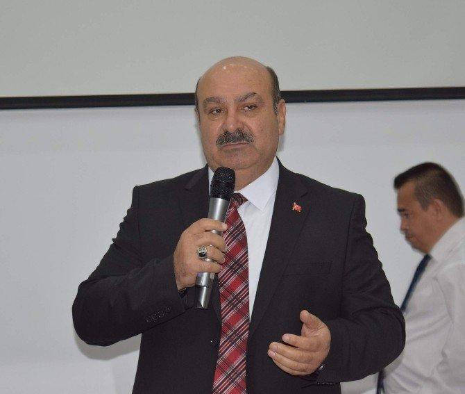 Afyonkarahisar ESOB Başkanı Abdülkadir Konak Genel Kurulu Değerlendirdi