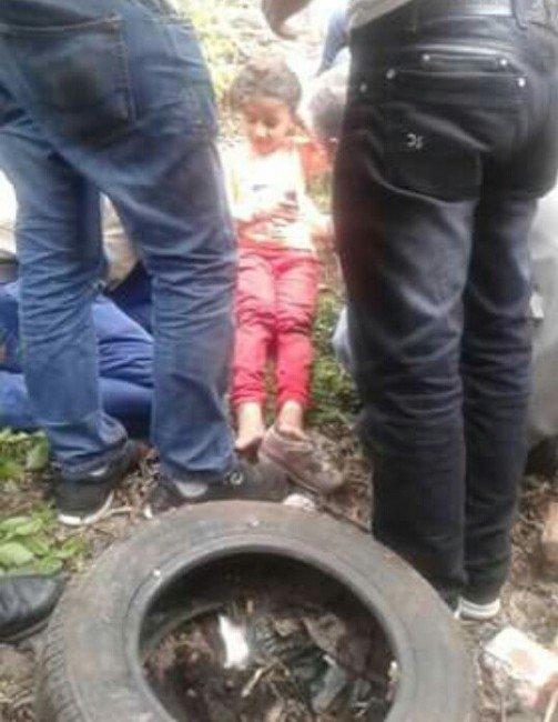 Kuyuya Düşen Çocuk Böyle Kurtarıldı