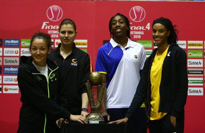FIBA Kadınlar Euroleague Final Four basın toplantısı yapıldı